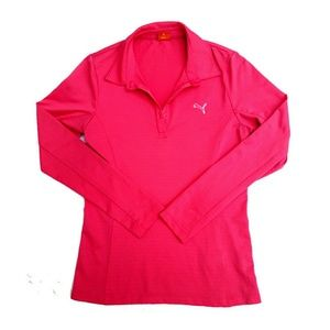 Puma Dry Fit Athletic Workout Top Shirt Small